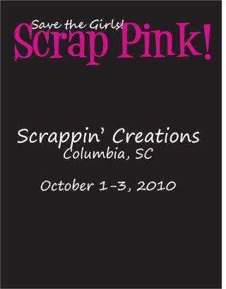 Scrap Pink black